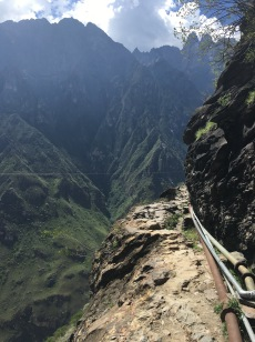 The path is not for the faint hearted